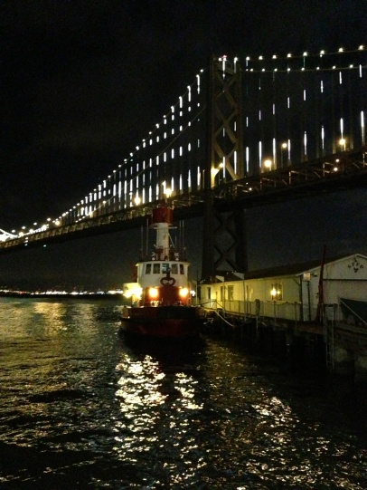 Leo Villareal, The Bay Lights, 2013. (Photograph by author)