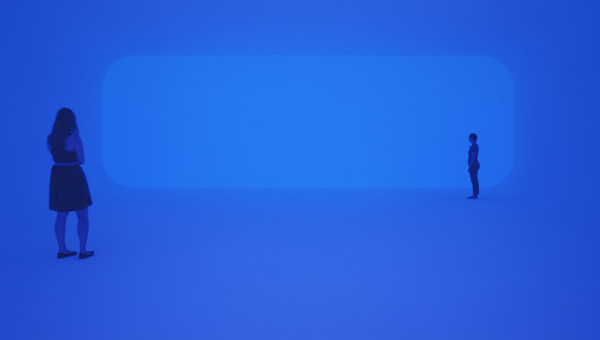 James Turrell, Breathing Light, 2013, LED light into space, Los Angeles County Museum of Art. Photo © Florian Holzherr