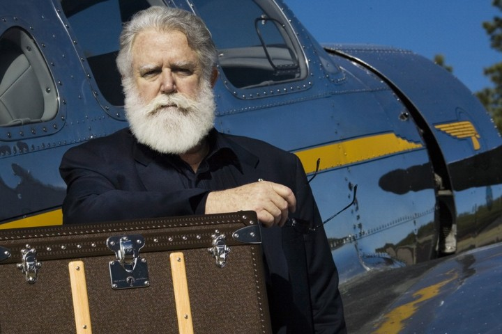 Promotional Photograph of James Turrell for Louis Vuitton