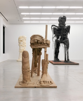 Thomas Houseago, installation view of I'll Be Your Sister, at Hauser & Wirth, London, 2012