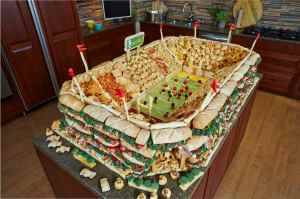 Snackadium example created by Pillsbury