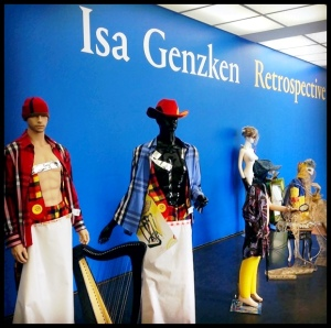 Isa Genzken: Retrospective, Entrance to the exhibition at the MCA